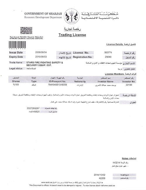 Trade-License-Sharjah